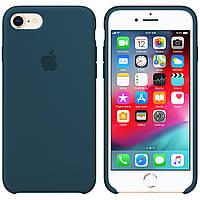 Силиконовый чехол для Apple iPhone 7 / 8 Silicone case (Форест Грин)