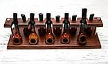 Подставка для трубок из ясеня на 10 шт, фото 3