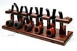 Подставка для трубок из ясеня на 10 шт, фото 2