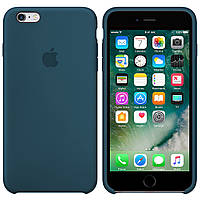 Силиконовый чехол для Apple iPhone 6 Plus / 6S Plus Silicone case (Форест Грин)