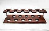 Подставка для трубок из ясеня на 10 шт, фото 6