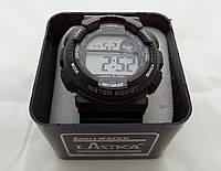 Часы мужские S-Sport - черные в тубусе, 30m, фото 1
