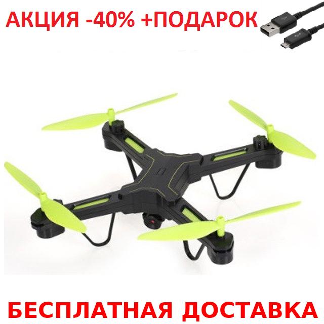 Квадрокоптер X7TW беспилотник c WiFi камерой + зарядный USB-microUSB кабель