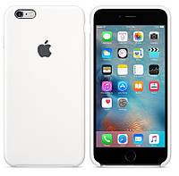Силиконовый чехол для Apple iPhone 6 / 6S (4.7 Дюйма) Silicone case (Белый)