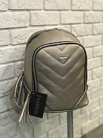 Женский рюкзак R-120-14, золотой
