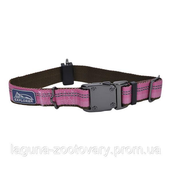 Coastal K9 Explorer ошейник для собак, нейлон, 2,5см/30-45 см, розовый
