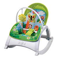 Кресло-качалка Lorelli ENJOY JUNGLE GREEN, фото 1