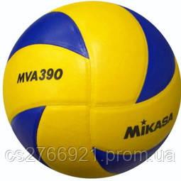 Мяч волейбольный Синт. кожа, размер #5, клееный, фото 2
