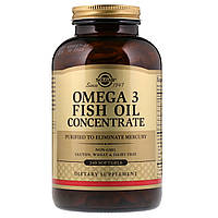 Solgar Omega 3 Fish Oil Concentrate 240 Soft