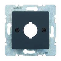 Накладка для сигнальных и контрольных приборов Berker B.3/B.7 Антрацит (14311606)