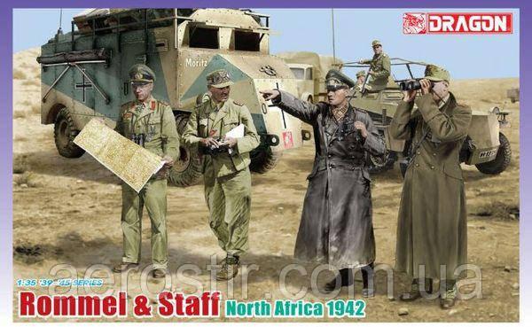 Rommel & Staff (North Africa 1942) 1/35 Dragon 6723