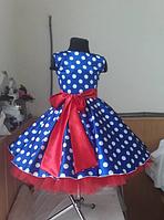 Детское платье в горох, универсальный размер., фото 3