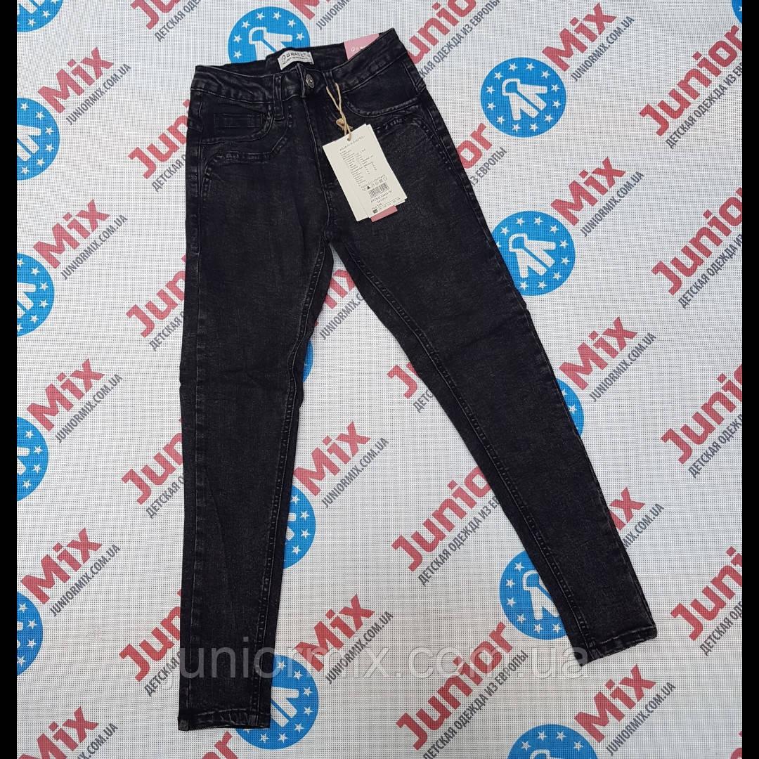 Подростковые черные стрейчевые джинсы для девочек оптом  GRACE