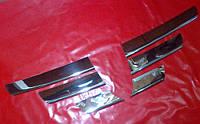 Хром накладка на решетку для Dacia Logan, Дача Логан