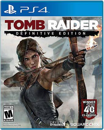 Игра для игровой консоли PlayStation 4, Tomb Raider: Definitive Edition (БУ), фото 2