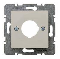 Накладка для сигнальных и контрольных приборов Ш 22.5мм Berker S.1 Белый (143202)