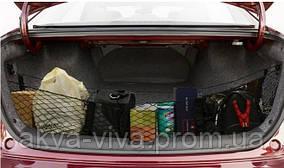 Сетка органайзер в багажник авто 112*30*30 см (СБ-1008)
