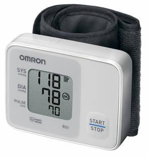 Тонометр тискомір автоматичний на зап'ястя OMRON RS1  НЕМ-6160-E