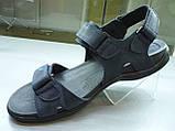 Сандалии Nike мужские коричнивые синие №8, фото 2