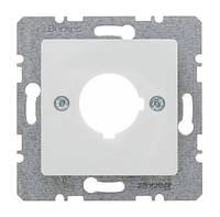 Накладка для сигнальных и контрольных приборов Ш 22.5мм Berker S.1 Полярная Белизна (143209)