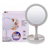 Настольное зеркало с LED подсветкой FOLD AWAY Складное зеркало, фото 5