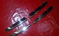 Хром накладка на решетку для Renault Megane 2 2002-2007 г.в., Рено Меган 2 2002-2007 г.в.