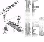 Коробка редуктора КН 2,1 (в сборе)