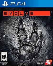 Игра для игровой консоли PlayStation 4,  Evolve (БУ)