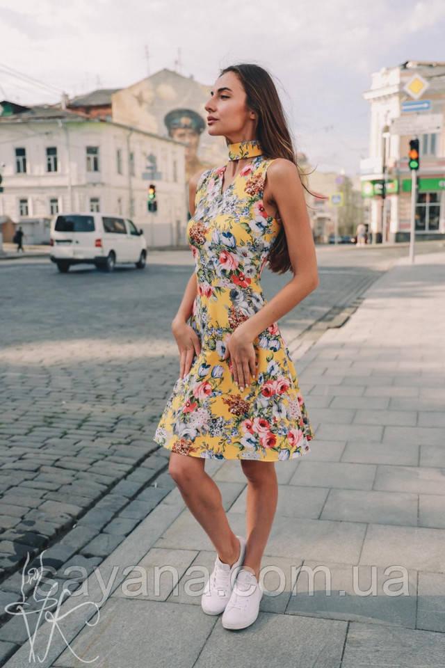 модное платье с имитацией на запах