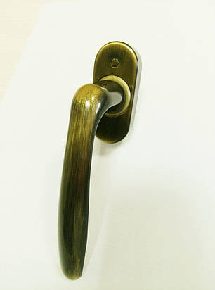 Віконна ручка Hoppe Roissy, 37mm., латунь, фото 2
