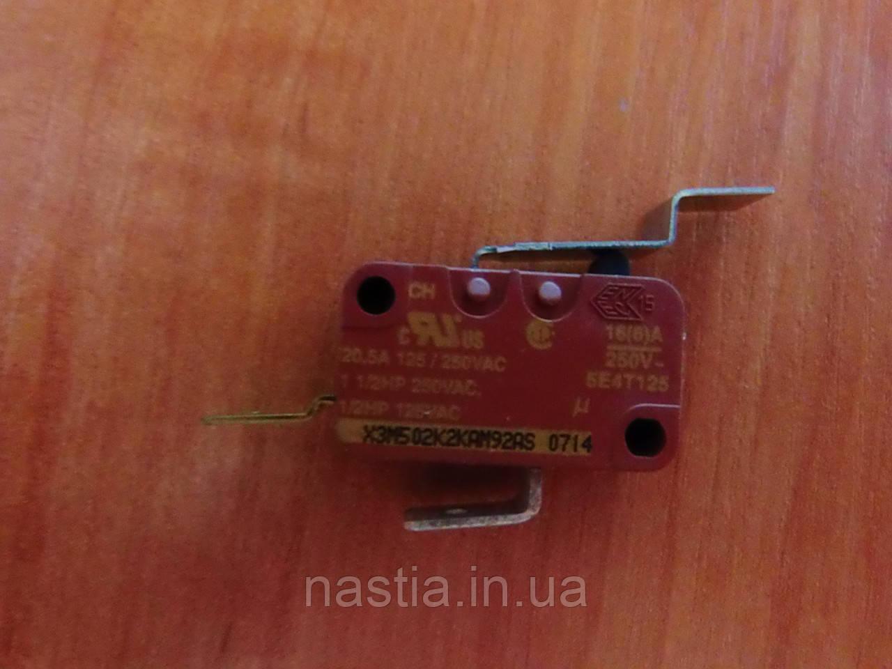 186723600 Мікроперемикач(відкриття двері), X3M502N2KAM92AS, Vienna