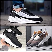 ТОП качество. Кроссовки 40-44 размеры в стиле Adidas Sharks, 3 цвета в наличии, фото 1