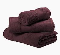 Полотенца махровые коричневые для гостиниц