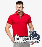 Braggart | Рубашка мужская поло 6182 красный