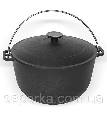 Казан туристический чугунный 6 литров, Биол , фото 2