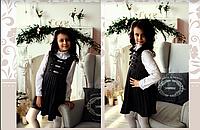 Платье-сарафаншкольный, 122