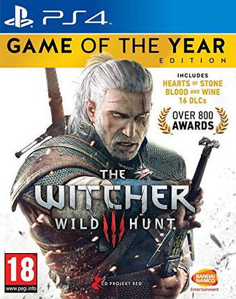 Игра для игровой консоли PlayStation 4, The Witcher 3: Wild Hunt - Game of the Year Edition (БУ), фото 2