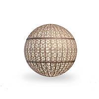 Светильник Сфера с осветительным блоком Ø60х60 Кофе с молоком (Pradex ТМ)