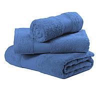 Полотенца махровые синие для гостиниц
