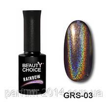 Новинка! Гель-лак «Rainbow» GRS-03, 10 мл