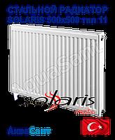 Стальной радиатор Solaris 500x500 тип 11 боковое подключение