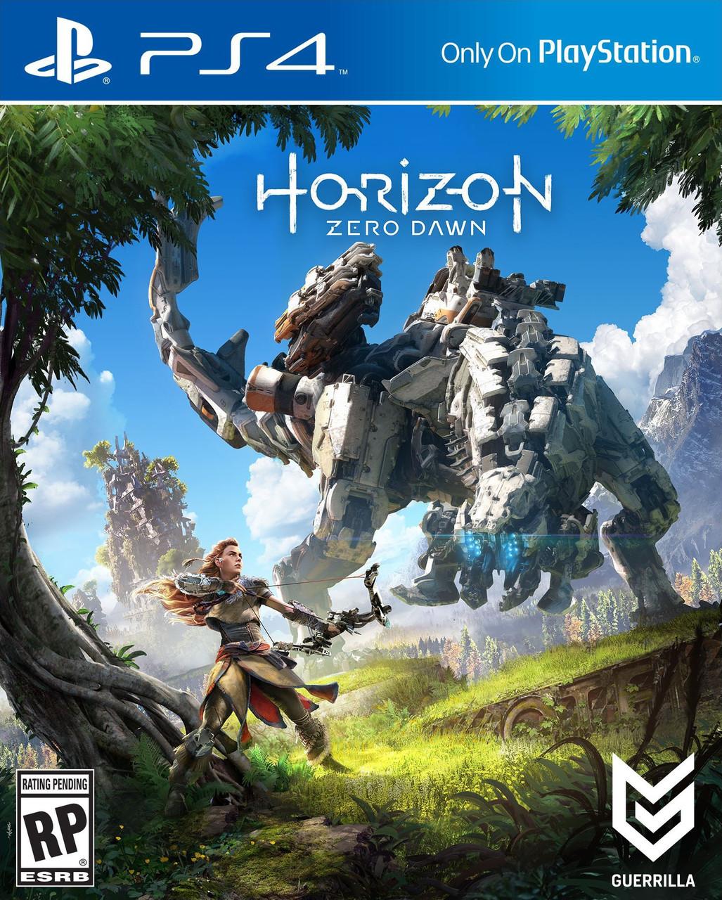 Игра для игровой консоли PlayStation 4, Horizon: Zero Dawn (БУ)