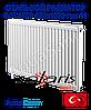 Стальной радиатор Solaris 500x1000 тип 11 боковое подключение