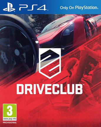 Игра для игровой консоли PlayStation 4, Driveclub (БУ), фото 2