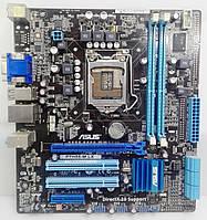 Материнская плата ASUS P7H55-M LX сокет 1156, DDR3, Intel H55 , фото 1