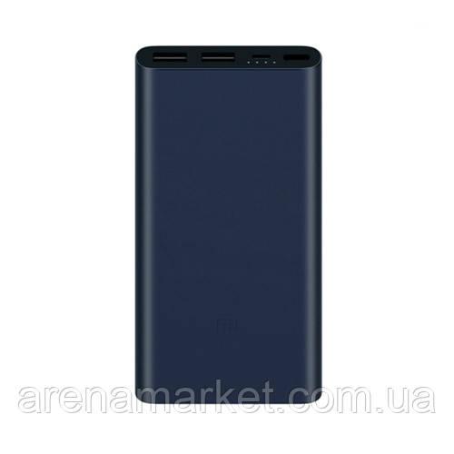Внешний аккумулятор Xiaomi Mi Power Bank 2S, 10000мAч - черный