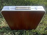 Посилений стіл для пікніка, розкладний валізу, 4 стільця Посилений/Міцний, фото 9