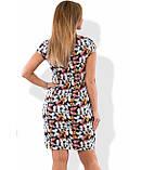 Стильное коктейльное платье размеры от XL ПБ-303, фото 2