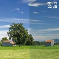 Экранирующая пленка для окон (ВЧ) RDF72 / ширина 76 см / 1 м
