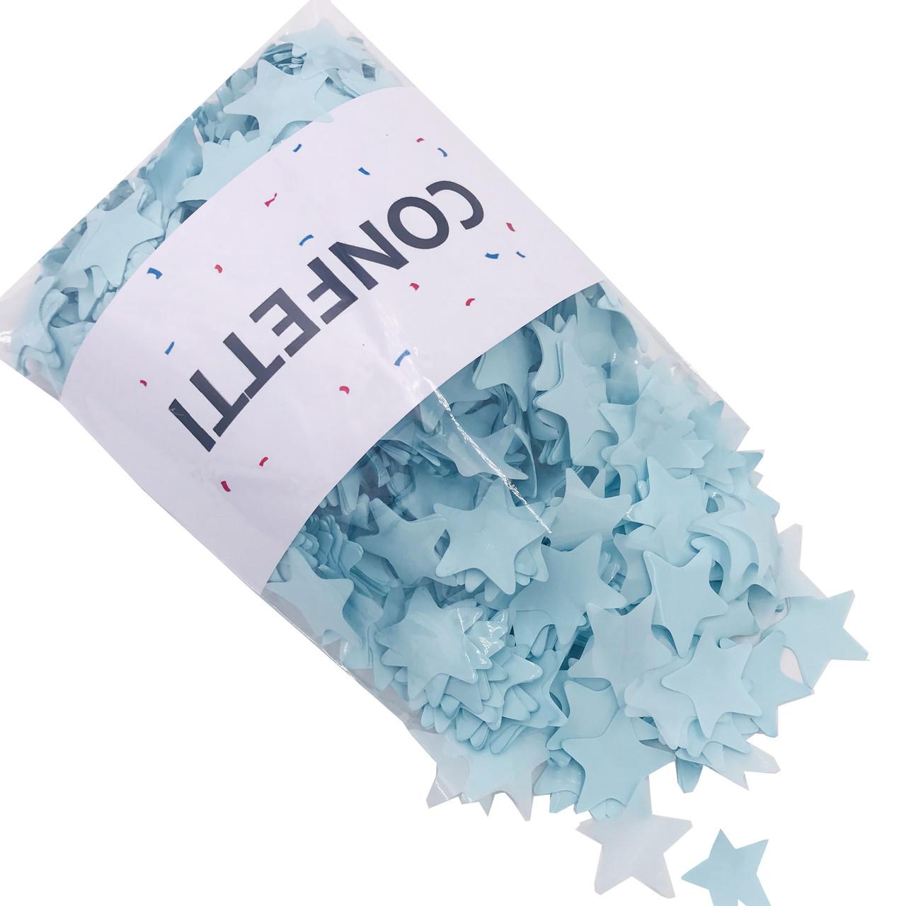 Конфетті Зірочки ніжно-блакитні 250 г